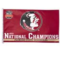Florida State University Seminoles 2013 National Champions Flag, DFLAG07668014