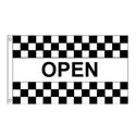 Checkered Open Flag, DFLAG120202