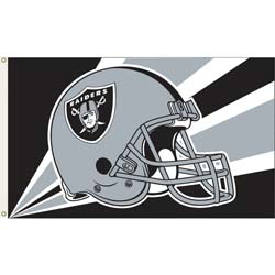 Oakland Raiders Flag, DFLAG1351