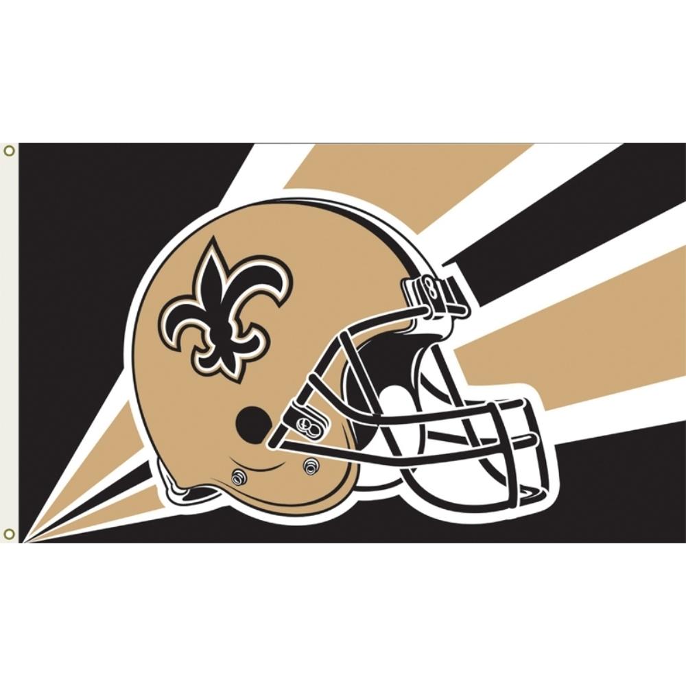 brand new 15c21 84b37 New Orleans Saints Flag