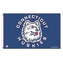 Connecticut Huskies Flag