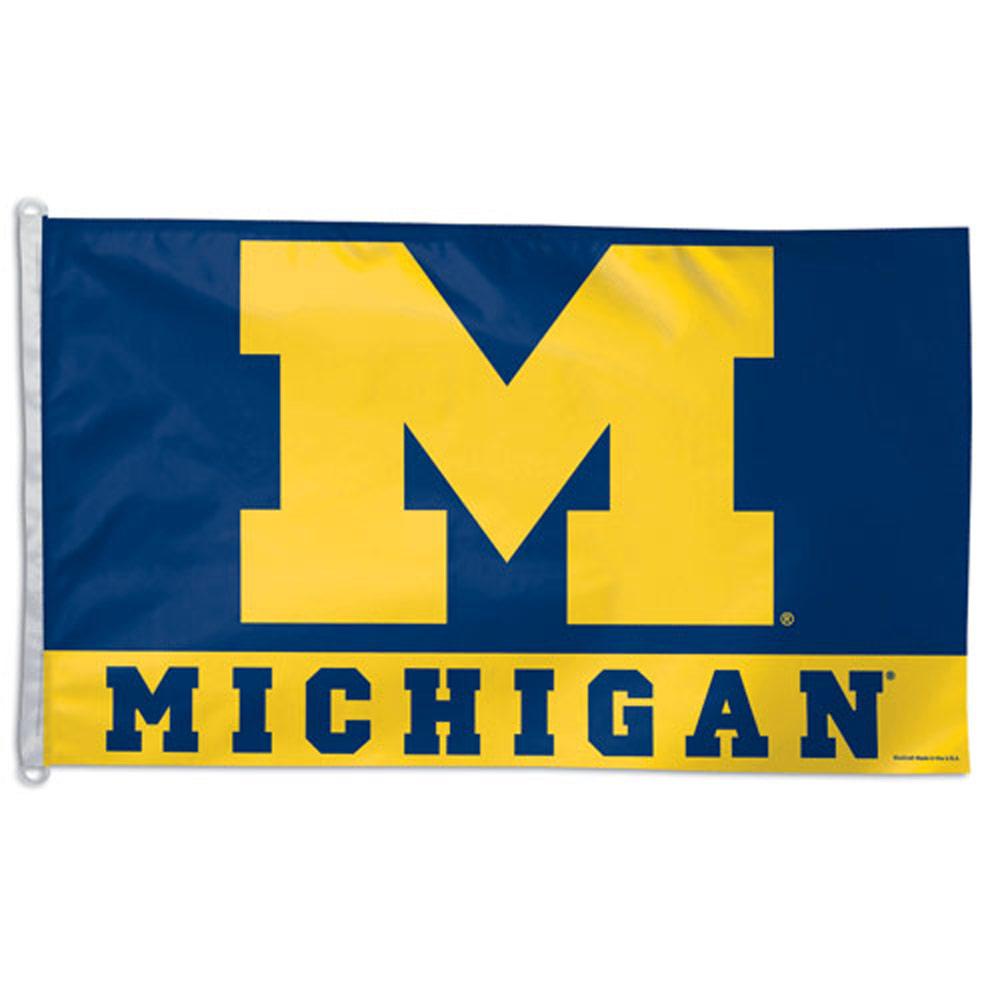 reputable site 7f0b6 ed3ea Michigan Wolverines Flag, DFLAG23516051