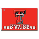 Texas Tech Red Raider Flag