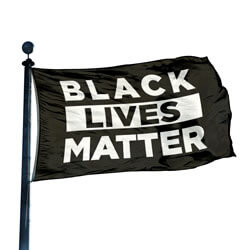Black Lives Matter Flag, DFLAG35BLM