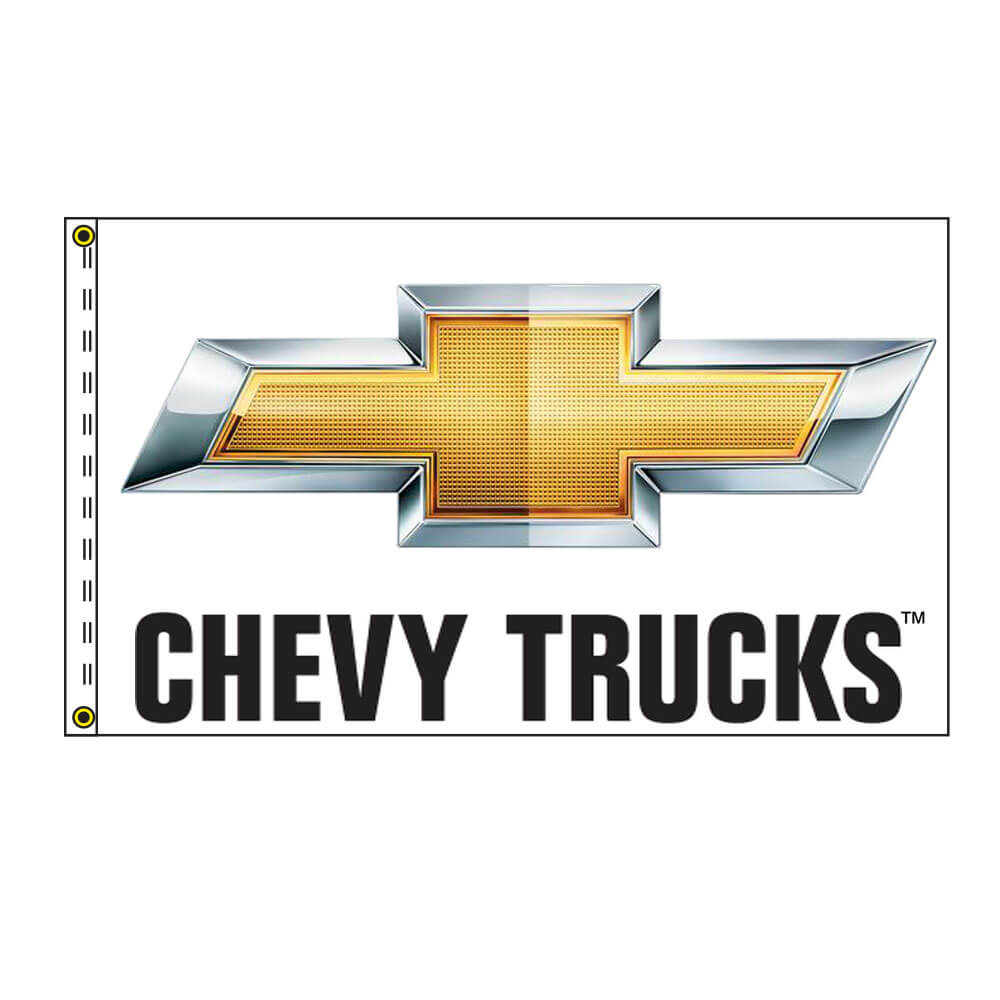 Chevy Trucks Authorized Dealer Flag, DFLAG35CT