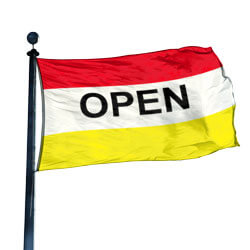 Open Flag, DFLAG35OPENRWY