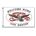 Welcome Home Our Heroes Flag, DFLAG439200