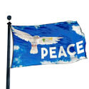 Peace Dove Flag, DFLAG655A