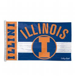 Illinois Fighting Illini Flag, DFLAG75195091
