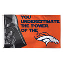 Denver Broncos Star Wars Flag, DFLAG83064010
