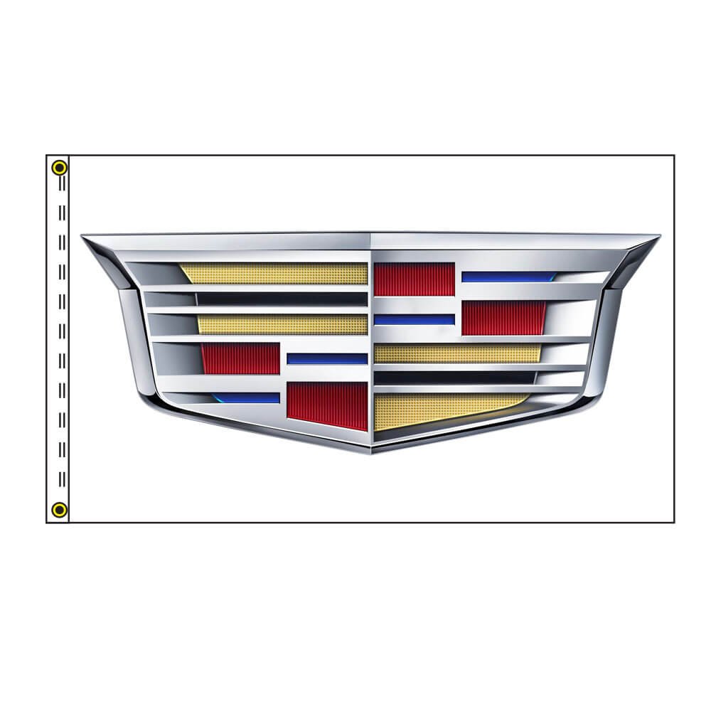 Cadillac Authorized Dealer Flag, DFLAGD35CADI