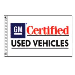 GM Certified Vehicles Flag, DFLAGD35GM
