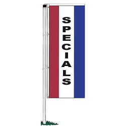 Specials Rotator Drape Banners - Double-Face,DFLAGNS1238SP