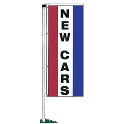 double face new cars rotator drape banners double face