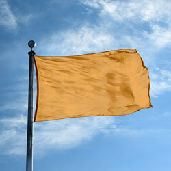 Amber Color Flag, DFLAGNY23AB