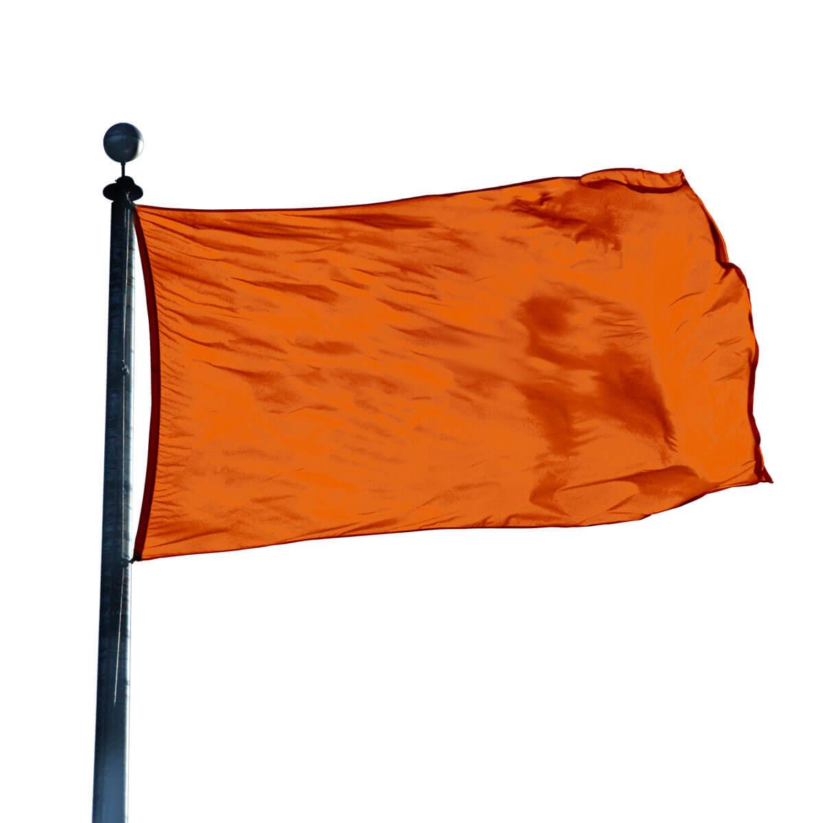 color flag burnt orange