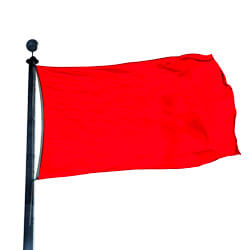 Color Flag: Bright Red, FBPP0000010058