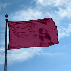 Ruby Color Flag, DFLAGNY1218RUB
