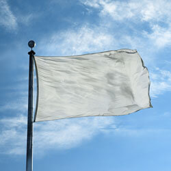Silver Color Flag, DFLAGNY1218SV
