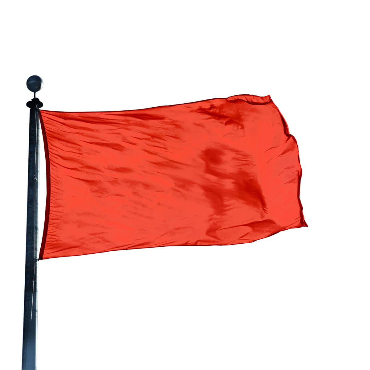 Warm Red Color Flag 12 In X 18