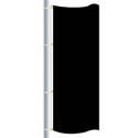 Nylon Black Drape Flag