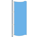 Nylon Bluebird Drape Flag