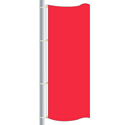 Nylon Bright Red Drape Flag
