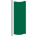 Nylon Emerald Green Drape Flag