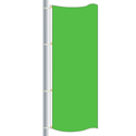 Nylon Mint Green Drape Flag