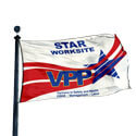 OSHA VPP Star Worksite Flag