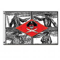 Pirate Captains Flag, DFLAGPC35