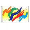 Paint Swish Flag, DFLAGPCD035J