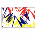 Electric Colors Flag, DFLAGPCD035U