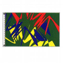Electric Colors Flag, DFLAGPCD035VG