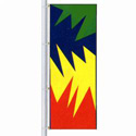 Color Burst Flag, DFLAGPCD038J