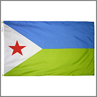 Djibouti Flags