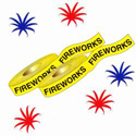 Fireworks Barrier Tape, DTAPEBT30