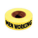 Caution Men Working Barrier Tape, DTAPEBTC