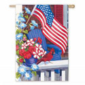 Patriotic Perch Banner