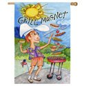 All American Grill Banner, EE14692