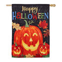 Haunted Halloween Suede House Flag, EE13S9270H