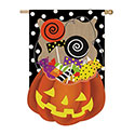 Halloween Candy Treat House Banner, EE13B3475BL