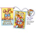 Happy Easter Bunny House Banner, EE13S2733FB