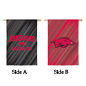 Arkansas Razorbacks Double Sided Banner, EE13S911