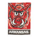 Arkansas Razorbacks Justin Patten House Flag, EE13S911JPH