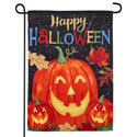 Haunted Halloween Suede Garden Flag, EE14S9270G