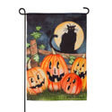 Haunting Halloween Night Suede Garden Flag, EE14S9321G