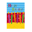 Happy Birthday Cake Greeting Card and Garden Banner, EE14GC2531