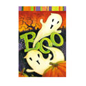 Boo Ghost Greeting Card and Garden Banner, EE14GC2543