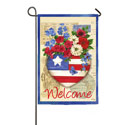 Patriotic Memories Welcome Banner, EE14S3393G